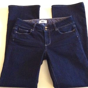 Paige Jeans, Hidden Hills Dark Wash Boot Cut 30/32